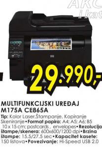 Štampač Color LaserJet Pro M175A CE865A