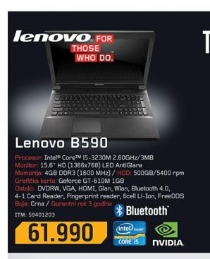 Laptop B590