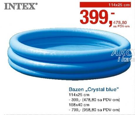 Bazen Crystal blue