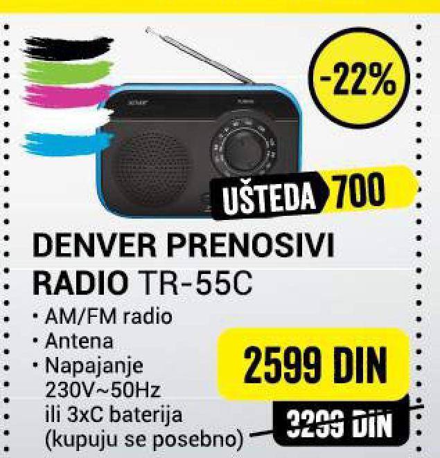 Radio TR-55C