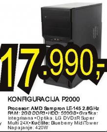 Konfiguracija P2000