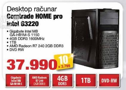 Računar Home Pro Intel G3220