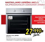 multisistemska Ugradna Rerna BO 6103 Ax