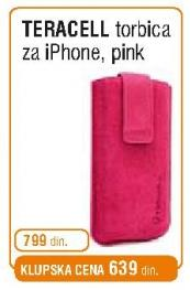 Torbica iPhone pink