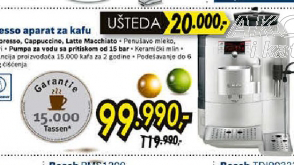 Espresso aparat za kafu TES71121RW