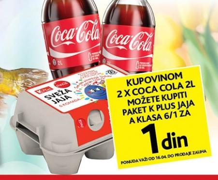 Kupovinom dve Coca Cole