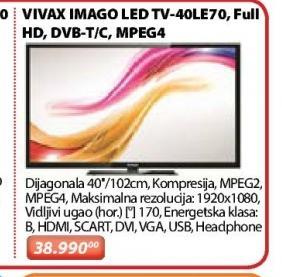 "Televizor LED 40"" 40LE70"