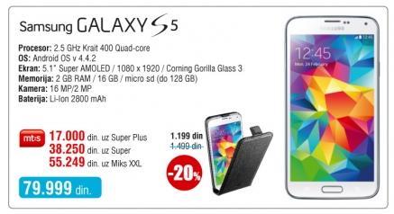 Mobilni telefon Galaxy S5