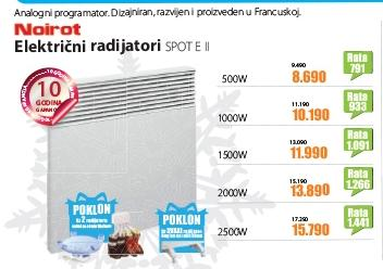 Električni radijator SPOT E II