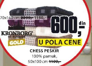 Peškir  Chess, 70x140cm