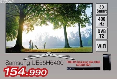 """Televizor LED 55"""" 3D Ue55h6400"""