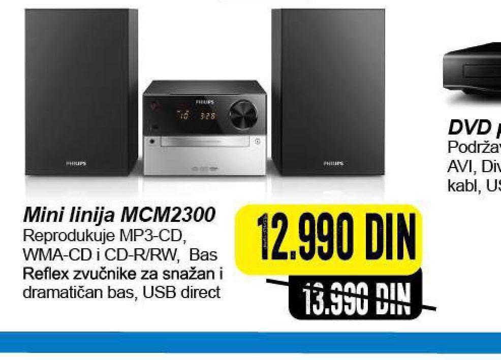 Mini linija Mcm2300