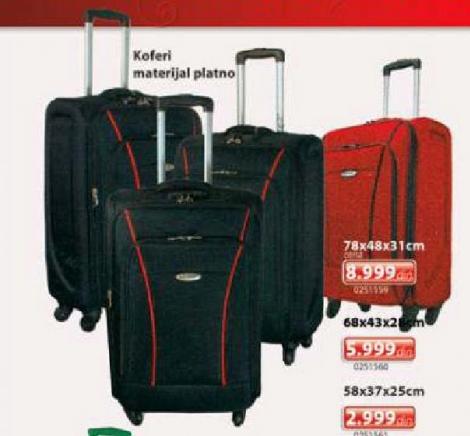 Kofer, platno