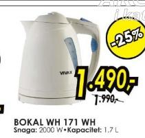 Bokal WH 171 WH