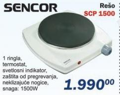Električni rešo Scp 1500