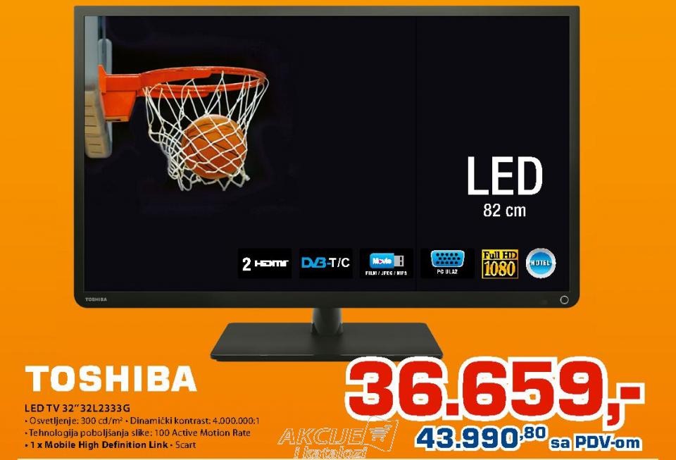 Televizor LED LCD 32L2333G
