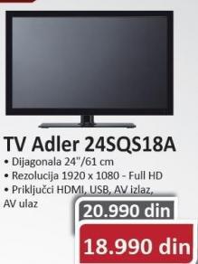 """Televizor LED 24"""" 24SQS18A"""