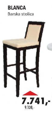 Barska stolica Blanca