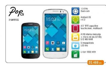 Mobilni telefon OT 5036D Pop C5
