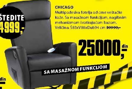 Fotelja Chicago