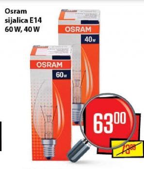 Sijalica E14, 60W