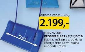 Plug za sneg Prosperplast Arctic Pvc M