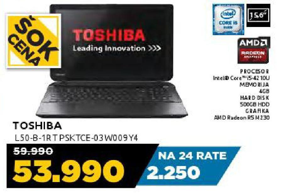 Laptop L50-B-1RTPSKTCE