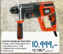 Elektropneumatski čekić KD975,Black and Decker