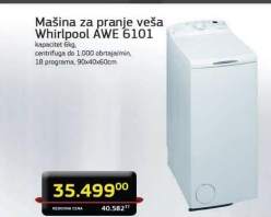 Veš mašina AWE 6101