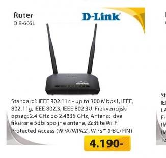 Wireless Cloud ruter DIR-605L