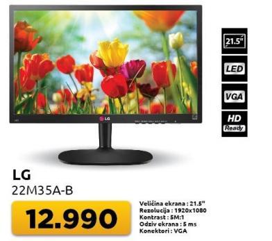"""Monitor 21,5"""" 22m35a-b"""