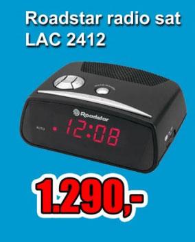 Radio sat LAC 2412