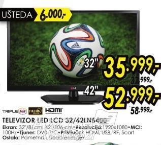 """Televizor LED 32"""" 32ln5400"""