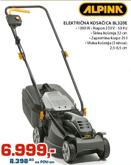 Električna Kosačica BL320E