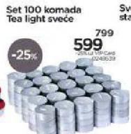 Set Tea Light sveća