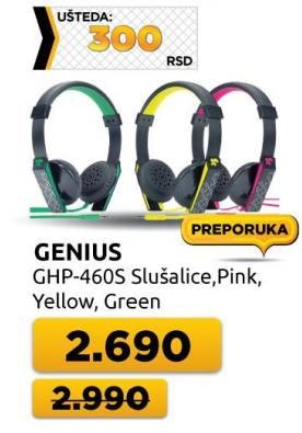 Slušalice Ghp-460s