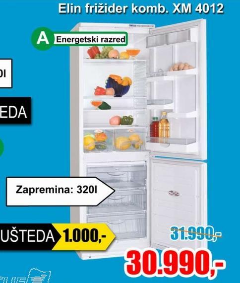 Kombinovani frižider Xm 4012