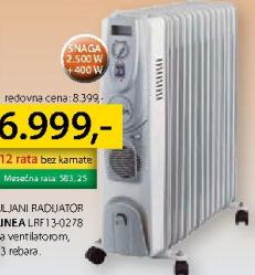 Uljani radijator  LRF13-0278