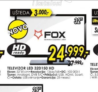 Televizor LED 32D150