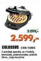 Aparat za galete CSS-5305