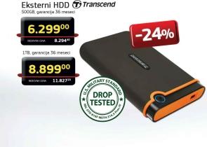 Eksterni HDD 1TB