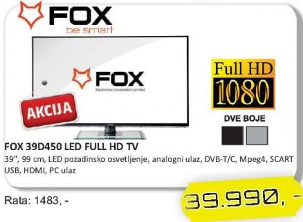 """Televizor LED 39"""" 39D450"""