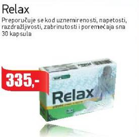 Relax kapsule