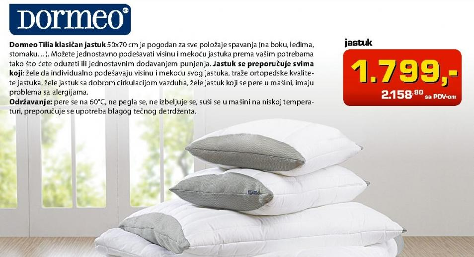 Jastuk Tilia