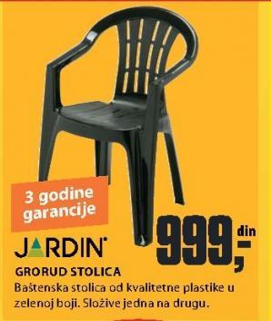 Baštenska stolica Grorud