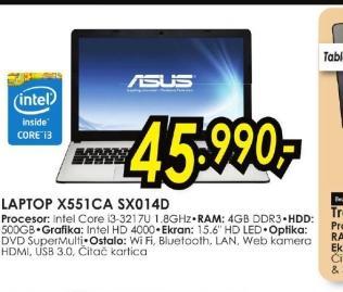 Laptop X551CA-SX014D