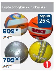 Lopta fudbalska