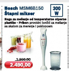 Štapni mikser MSM6B150