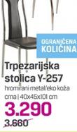 Trpezarijska stolica Y-257