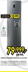 Frižider kombinovani GB-5135SVAW